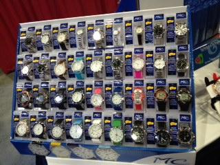 Fashion Watch Display