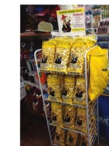 Hillbilly Kettle Korn display