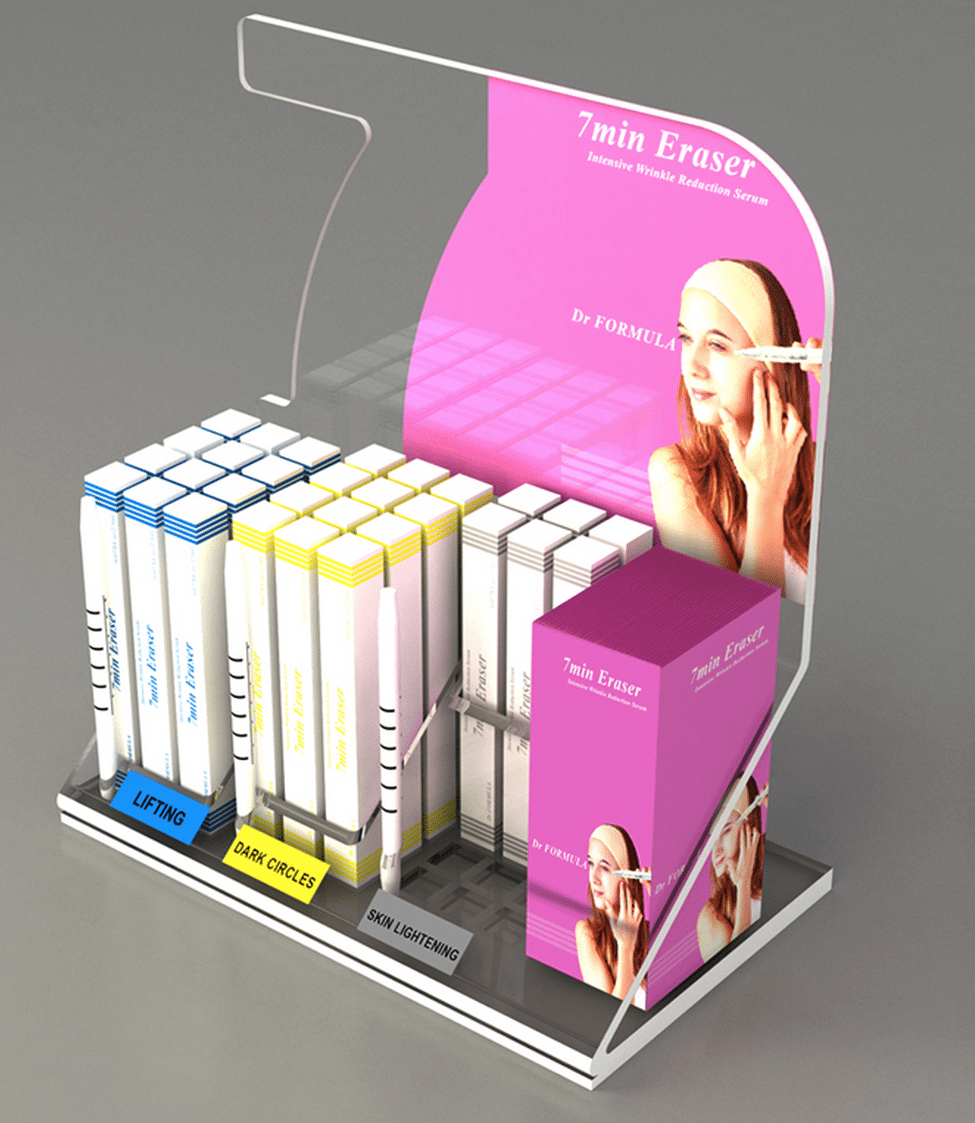 Clip Strip Point of Sale Display