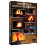 Fireplace,Fishtank & Lava Dvd